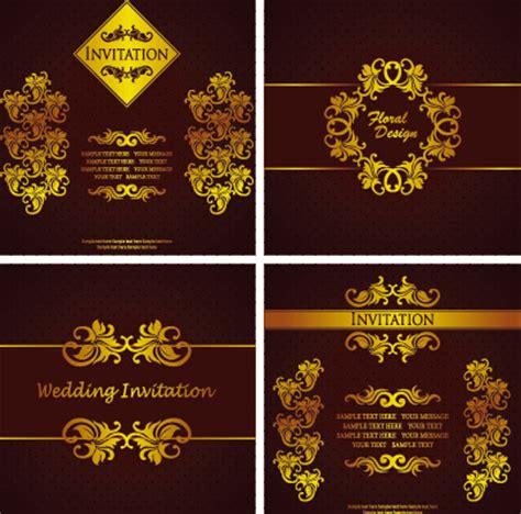 birthday invitation card design vector free download birthday invitation card background free vector download