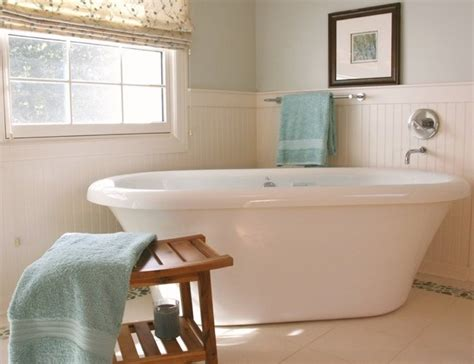how to put up beadboard in bathroom how to install beadboard bob vila