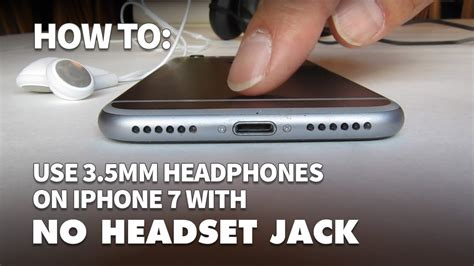 connect regular headphones  iphone    mm headset jack youtube