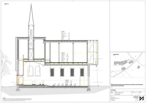 section 79 plan saint joseph in the woods messner architects archdaily