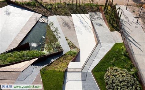 Landscaper Forum 高差处理的建筑景观设计案例 景观规划 园林吧