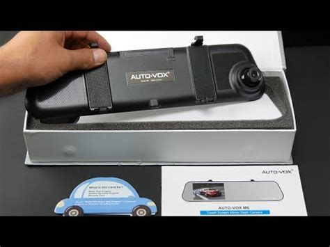 Vox Auto by Auto Vox M6 Touchscreen Rearview Mirror Dashcam Review