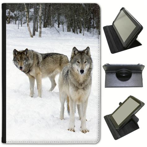 Universal Wolf wolf wolves universal folio leather for bush tablets