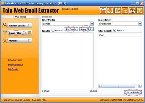 email filter online how to use email filters with twee to exclude invalid or