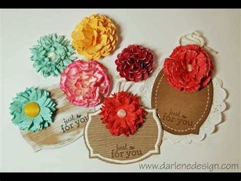 How To Make Different Paper Flowers - how to make paper flowers