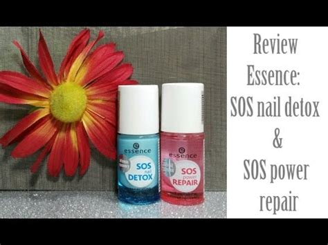 Sos Ingology Detox Mouthwash Reviews by Review Essence Sos Nail Detox E Sos Power Repair