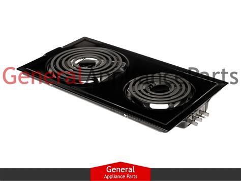 jenn air cooktop jenn air designer line cooktop black electric coil element cartridge jea7000adb ebay