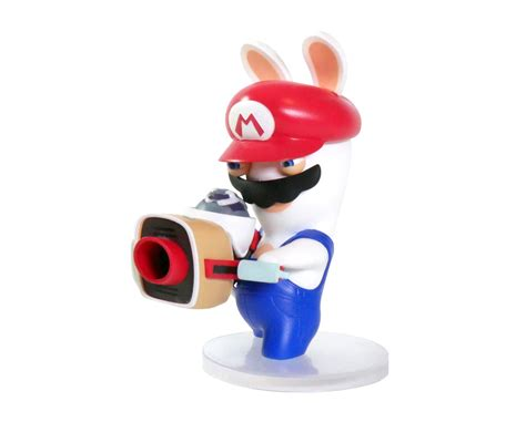 Sale Amiibo Rabbid Mario Lapin Mario mario 3 quot figurine mario rabbids kingdom battle ubi workshop