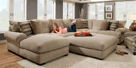 wide sectional couches sectional sofa with extra wide chaise cozysofa info