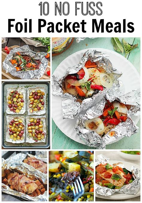10 no fuss foil packet meals home made interest