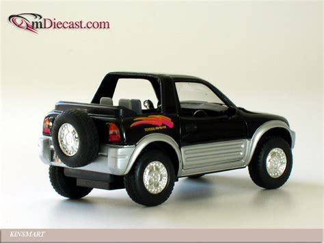Kinsmart Toyota kinsmart toyota rav4 cabriolet black in 1 32 scale mdiecast