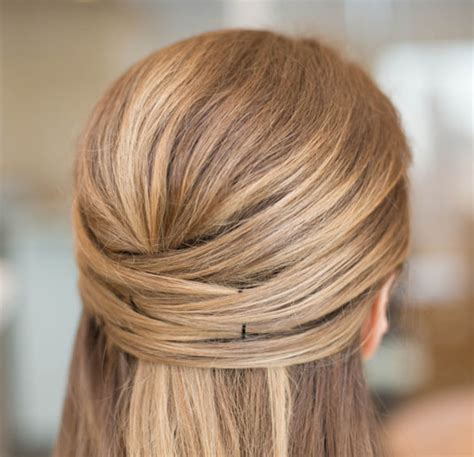 half up half down daily hairstyles 15 casual simple hairstyles that are half up half down