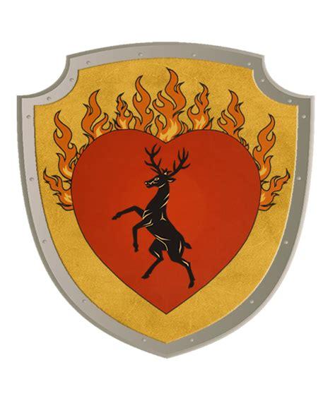 house baratheon of dragonstone game of thrones family crests rich heraldry pro heraldica usa