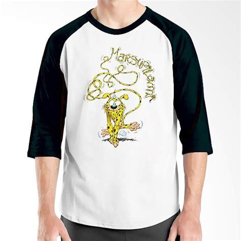 Tshirt Kaos Baju Raglan Adidas King Clothing jual ordinal raglan marsupilami hitam putih kaos pria harga kualitas terjamin