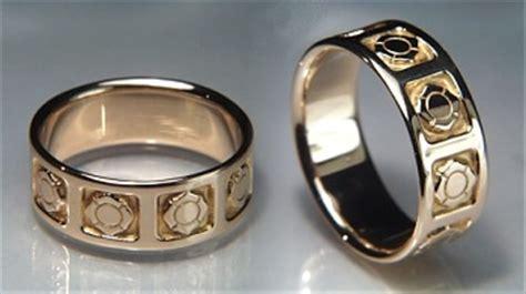 Wedding Rings For Firefighters by Custom Specialty Jewelry Designet International