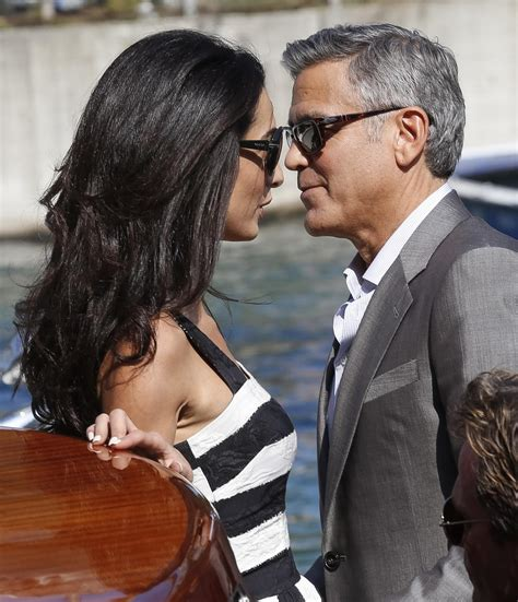 George Clooney Kisses For The Right Price by 5 Things Amal Alamuddin Has Taught Us About Bagging An