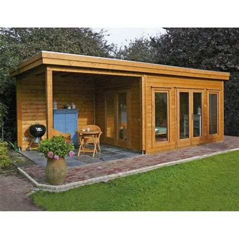 lugarde prima victoria   cm flat roof shed