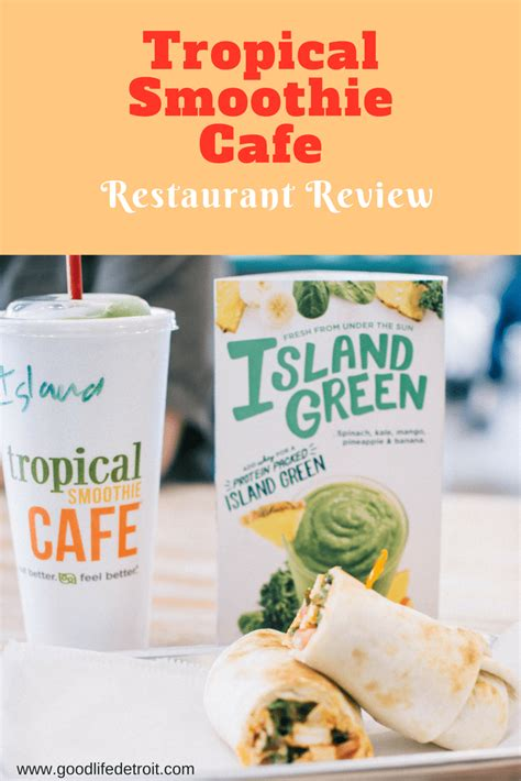 tropical smoothie cafe restaurant review  giveaway