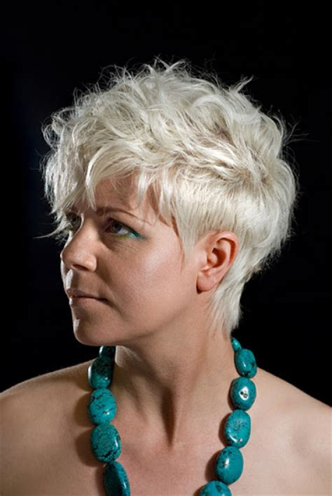 hairstyles grey hair funky versatility of medium length haircut short funky hairstyles