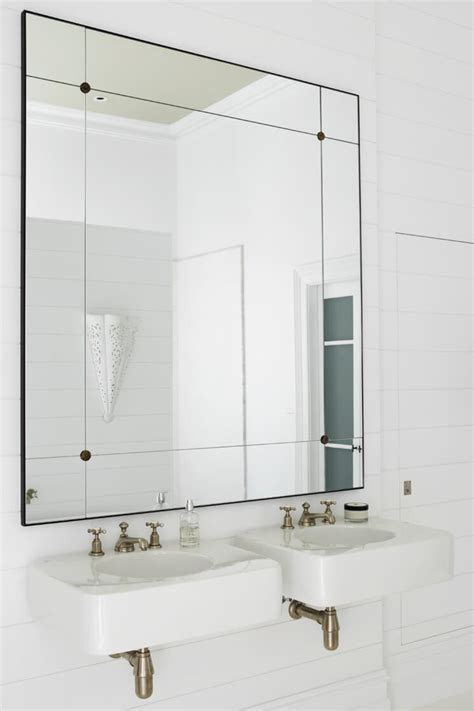 bathroom mirror designs justine hugh jones design bathroom mirror est magazine