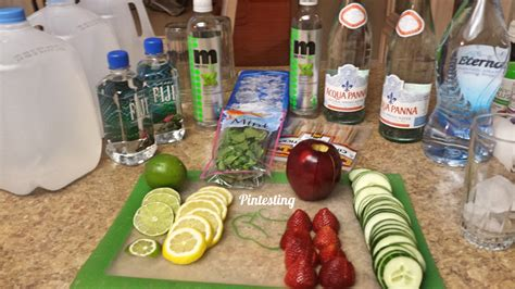 Detox Bar by Pintesting Infused Waters And Detox Waters