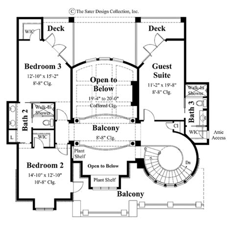 3234 0411 square feet 4 bedroom 2 story house plan mediterranean style house plan 4 beds 3 5 baths 3956 sq