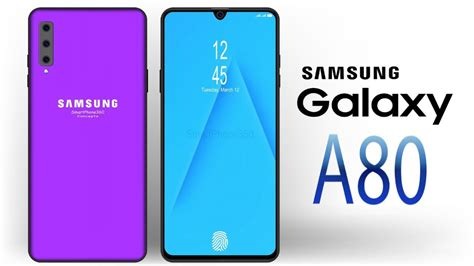 Samsung Galaxy A80 New Price by Samsung Galaxy A80 Sales Date And Price Samsung Galaxy S5 Aqua News