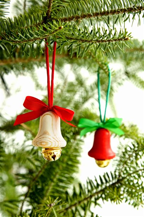 tree bell jingle bells images with ribbon