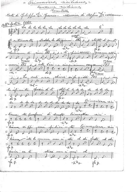 testo canzone ciuri ciuri musica siciliana folk canti siciliani testi canto dei