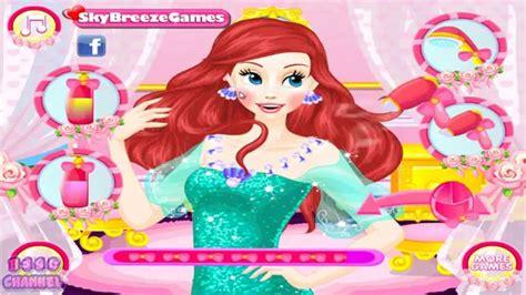 ariel hairstyles games ariel s wedding hairstyles ariel wedding day hairstyle