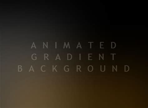 background video css animated gradient background with pure css css script