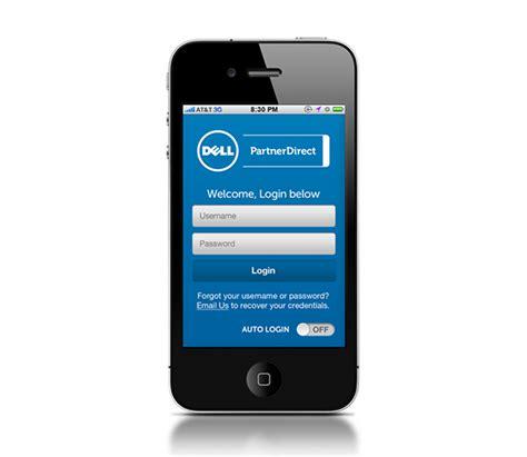 direct mobile app dell partner direct mobile app on behance