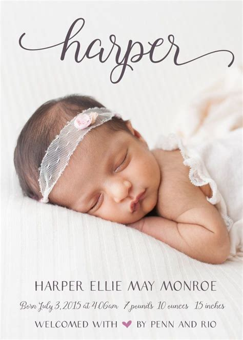 best 25 birth announcements ideas on pinterest