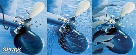 u boat net cutter spurs line cutter