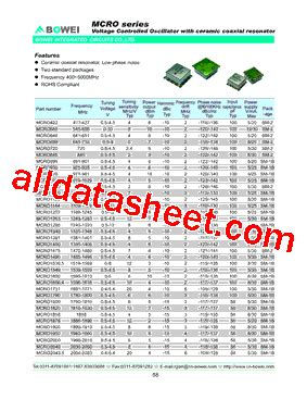 bowei integrated circuits co ltd mcro3370 datasheet pdf bowei integrated circuits co ltd