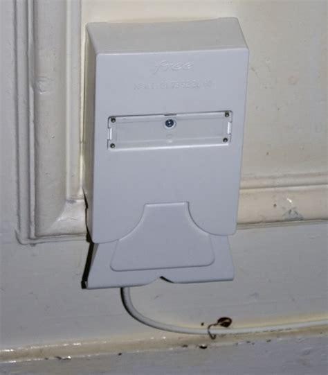 Installer La Fibre Chez Soi 4095 by M 224 J 2 Fibre Photos D Une Prise Optique Free