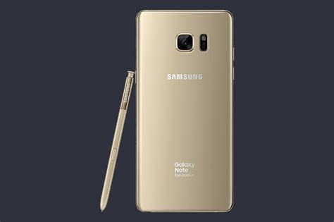 note 7 fan edition galaxy note 7 quot fan edition quot is official with smaller