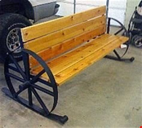 metal wagon wheel bench wagon wheel bench millerwelds