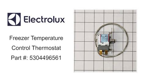 what temperature should the freezer section of a refrigerator be electrolux freezer temperature control thermostat part