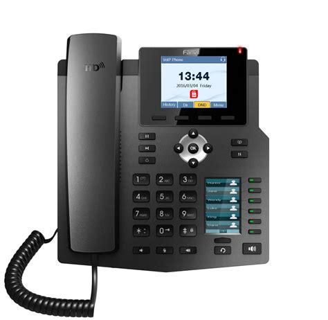 Fanvil X4 High End Enterprise Desktop Ip Phone Poe fanvil x4 x4g beskom co id