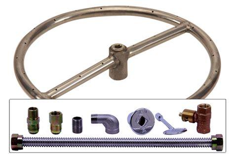 pit ring kit spotix gas pit burner ring kit 12 inch
