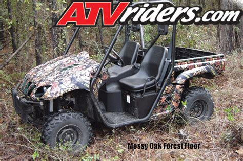 Decal Yamaha X Ride Camo atv sxs camouflage buyers guide for fishing