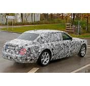 Next Gen Rolls Royce Phantom Spotted By CAR Magazine