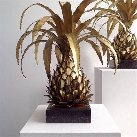Pineapple Table L Pineapple Table L Maison Jansen Brass Pineapple Table L In Palm Tree Pineapple Table