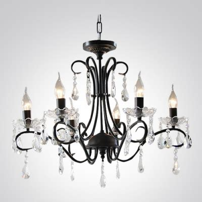 black chandelier a charming way stunning clear 27 5 quot wide charming black wrought iron chandelier quality unique