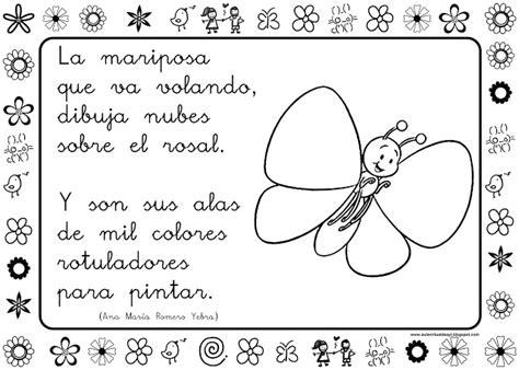 poemas de insectos para ninos dibujos de adivinanzas para colorear imagui