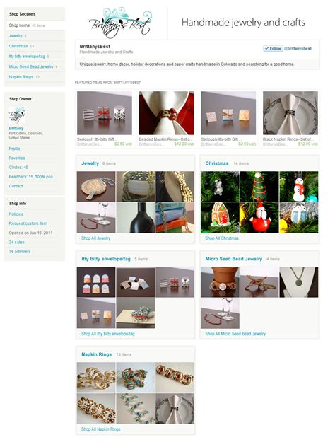 etsy shop sections missing etsy features brittany s best