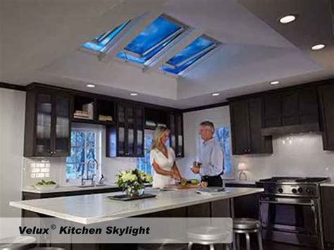 Velux Kitchen Skylights by Roofing Gallery Twg Construction