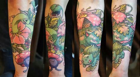 pokemon tattoo sleeve 24 tattoos on sleeve