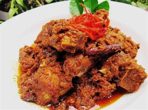 Rendang Ayam Suwir Rendang Nenek resep dan cara membuat hidangan rendang minang asli padang yang original selerasa